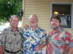 Donny Peffley, Brian Bechtold, and Ann Killian's husband